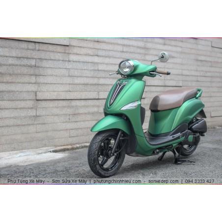 Sơn xe máy Nozza - Xanh Nhám