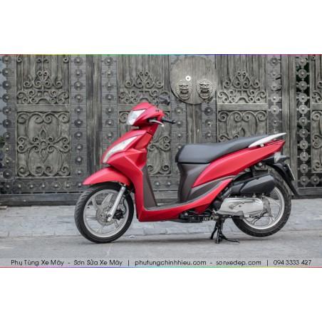 Sơn xe máy Vision - Đỏ Bóc Đô Nhám