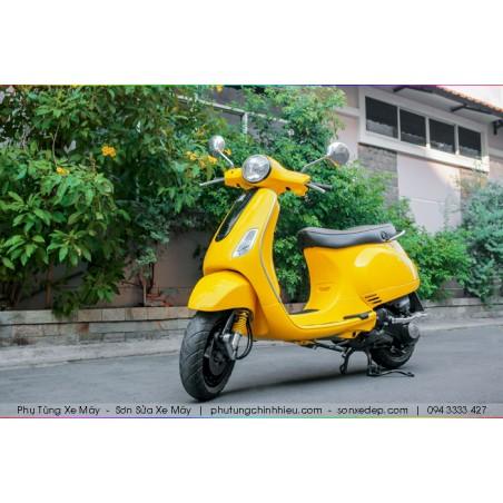 Sơn xe máy Vespa - Vàng bóng